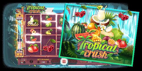 Joker Slot Roma สล็อตออนไลน์ สล็อตโรม่า Tropical Crush