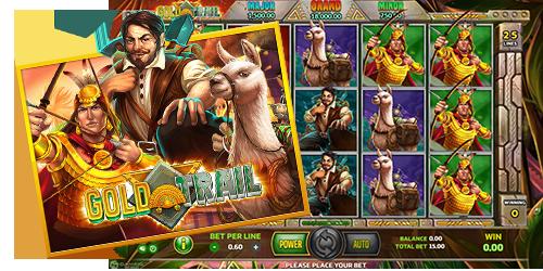 Joker Slot Roma สล็อตออนไลน์ สล็อตโรม่า Gold Trail